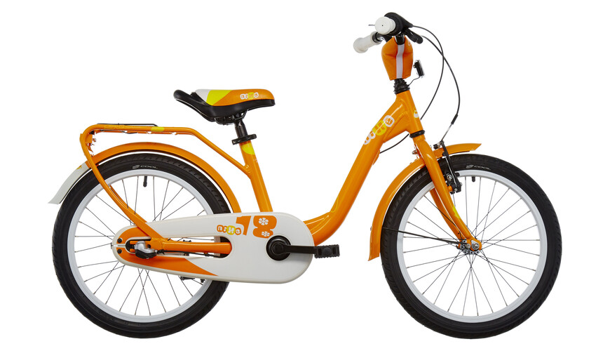 s'cool niXe 18-3 Barncykel orange